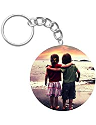Friends Forever | ShopTwiz Circle Printed Key Rings