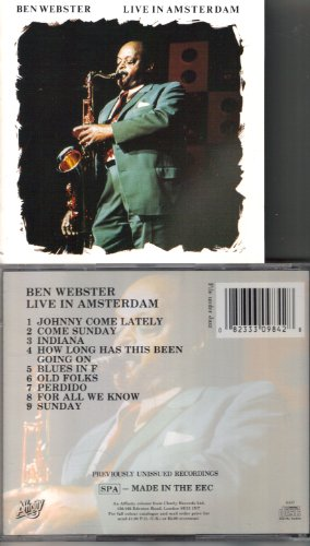 Live in Amsterdam by Ben Webster