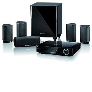 Harman Kardon BDS 685S Heimkino-System 5.1-Kanal, 525 Watt, 4K Blu-Ray Disc-System mit Spotify Connect, Airplay und Bluetooth-Technologie - Schwarz