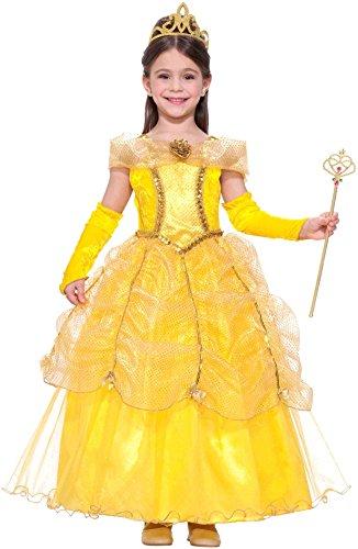 [Forum Novelties Golden Princess Costume, Small] (Child Princess Halloween Costume)