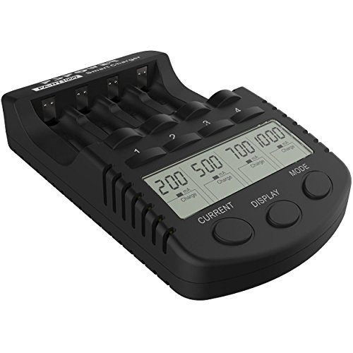 充電池 充電器 NT1000 Ni-Cd/Ni-MH 単三(AA)/単四(AAA)充電池の充電、急速充電、放電、リフレッシュに便利な充電器