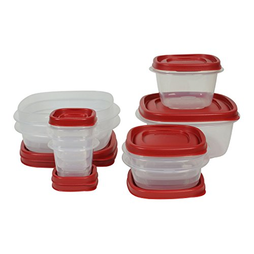Rubbermaid Easy Find Lids Food Storage Container, BPA-Free