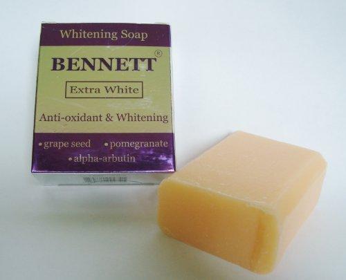 Bennett Extra White Anti-Oxidant Alpha Arbutin Extreme Whitening Soap 130G/4.6Oz