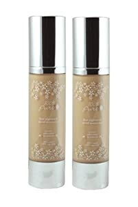 100% Pure Fruit Pigmented Tinted Moisturizer SPF 20, Sheer to Medium Coverage, Peach Bisque, 2 Pack