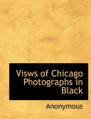 Visws of Chicago Photographs in Black
