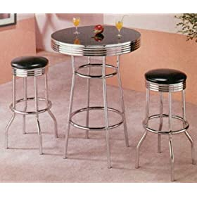 Retro Syle Bar Table and Living room furniture