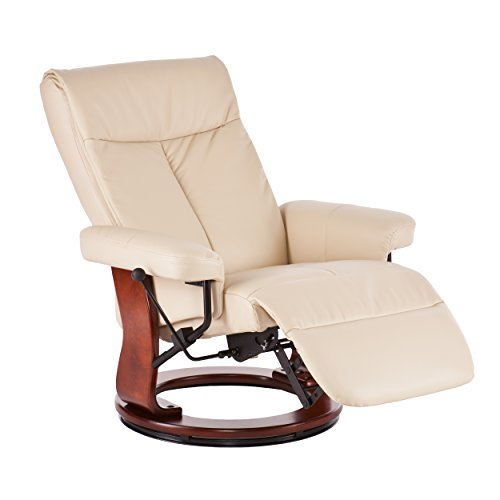 Swivel Recliner With Ottoman front-421474