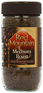 Red Mountain Coffee Medium Roast 95 g (Pack of 12)