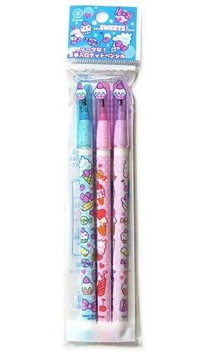 ロケット鉛筆3本組