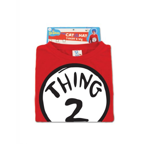 Thing 2 Adult Costume Kit Size: Small / Medium