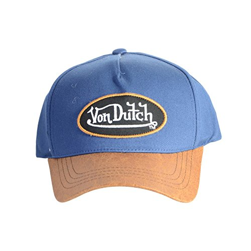 taille-unique-casquettes-von-dutch-chuck-bleu