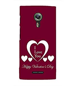 EPICCASE valentines day Mobile Back Case Cover For Alcatel One Touch Flash 2 (Designer Case)