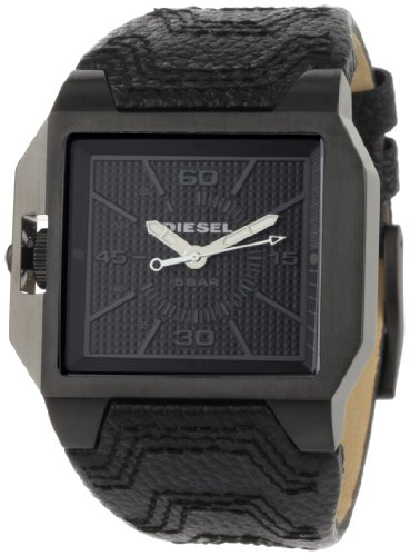 Diesel Men's DZ1265 Black Not-So-Basic Basic Analog Black Dial Watch