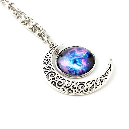 crescent-moon-womens-galaxy-universo-stelle-di-natale-in-vetro-liscio-con-ciondolo-a-forma-di-regali