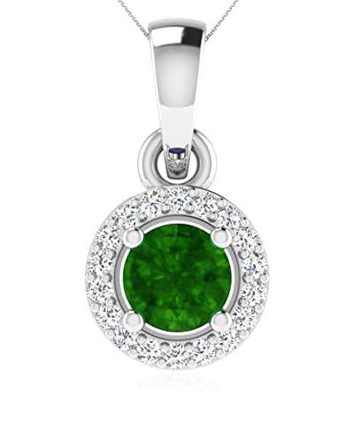 Art Of Diamond Collana Emerald White Gold