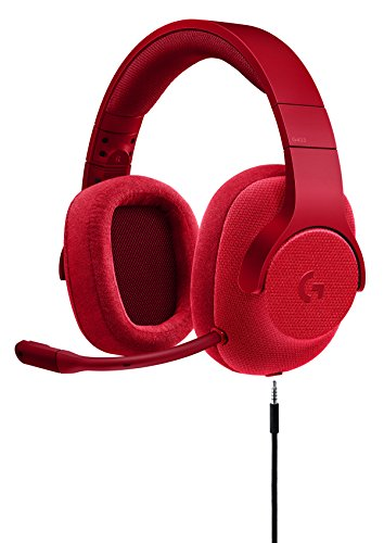 Logitech 981-000650 G433 7.1 Wired Gaming Headset with DTS Headphone: X 7.1 Surround for PC, PS4, PS