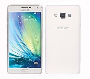 CUBIX® Galaxy A7 Case, Hard (Semi Transparent) Super Slim Matte Back Cover For Samsung Galaxy A7 (White)