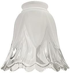 Ellington 346 Bell Shaped Fan Glass Shade with 2 1/4\