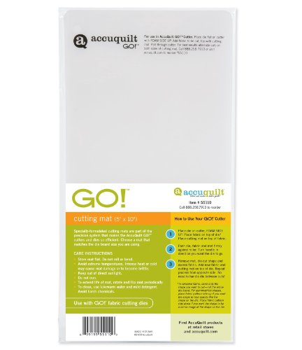 Accuquilt Go! Cutting Mat; 5-Inch-By-10-Inch front-295403