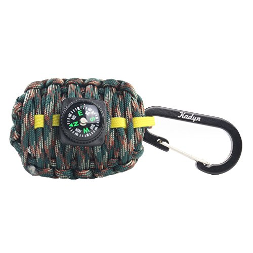 Carabiner Compass Grenade Outdoors Hiking functionality, durability Survival Kit