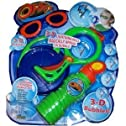 OPTRIX 3-D Lightning Dip & Blow Bubble Set