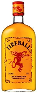 Fireball Liqueur Blended With Cinnamon And Whisky 500ml