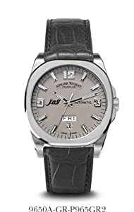 Armand Nicolet Men's 9650A-GR-P965GR2 J09 Casual Automatic Stainless-Steel Watch from Armand Nicolet