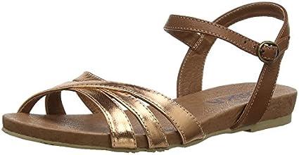 Esska Inch, Sandales femme - Multicolore (Copper/Tan), 38 EU