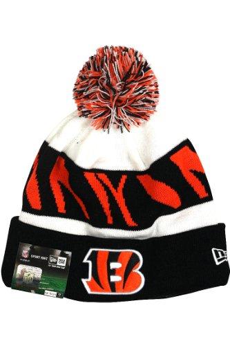 New Era NFL 13 On Field Cincinnati Bengals Sport Knit Hat White (Bengals Merchandise compare prices)