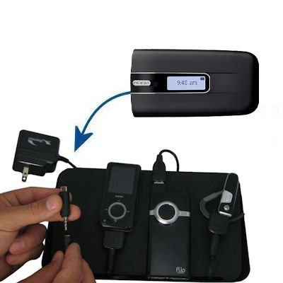 Gomadic Advanced Nokia 1606 4-port Charging Station - Uses TipExchange Technology to charge up to four devices simultaneously