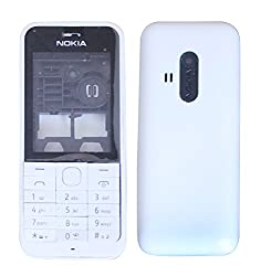 Nokia 220 Replacement Body Housing Front & Back Original Panel - White