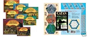 Settlers of Catan MEGA 10 Piece Bundle