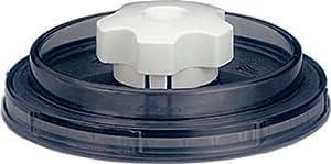 Magic VAC VDU 125 - Tapa universal de recipientes para envasar al vacío (125 mm, redonda) de Rommelsbacher