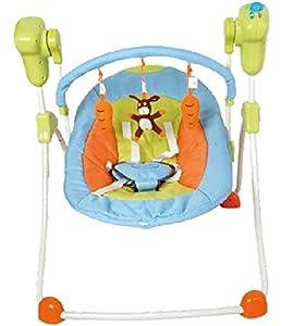 Columpio plegable para bebés, multicolor. Hamaca, balancín o silla mecedora para niños