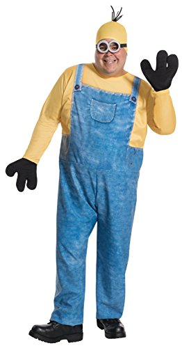 Rubie's Men's Plus Size Despicable Me Minion Kevin Costume