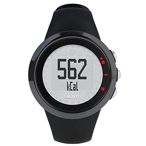 Suunto-Montre numérique à cadran noir Mixte-SS015854000