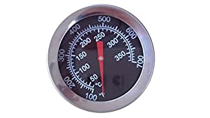 2 inch 00015 Heat Indicator Replacement for Select Gas Grill Models by Charbroil,... by BBQ Parts