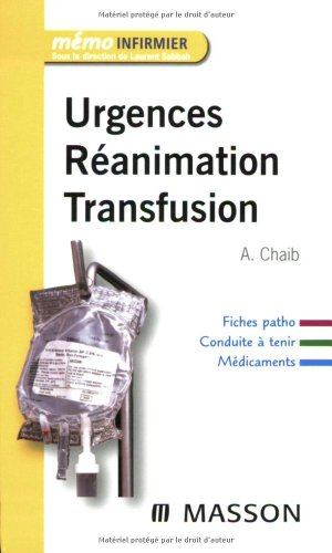 Urgences Réanimation Transfusion