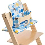 Stokke Tripp Trapp Cushion, Silhouette Blue, 0-36 Months