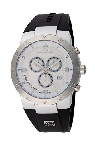 Helveco H01652AAA - Reloj , correa de goma color negro