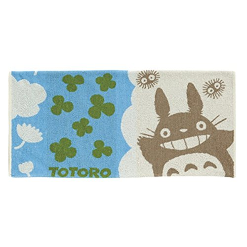 And Totoro Totoro Totoro umbrella clouds clover towel pillow covers (without box) 5271
