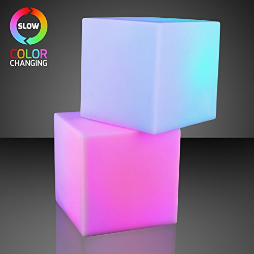 Mood Light Deco Cube With Color Changing Led (Set Of 12)