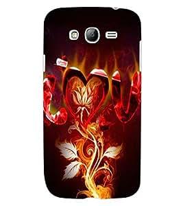 ColourCraft Love Design Back Case Cover for SAMSUNG GALAXY GRAND Z I9082Z