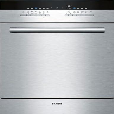 Siemens SC76M540EU lave-vaisselle - laves-vaisselles (Semi intégré, A, A+, Acier inoxydable, boutons, Auto 45-65 ºC, Économie, Intensif, Pré-lavage, Rapide)