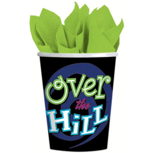 Oh No... Over The Hill 9 oz Paper Cups