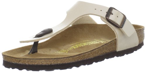 Birkenstock Women's Gizeh Thong Sandal,Graceful Antique Lace,39 N EU