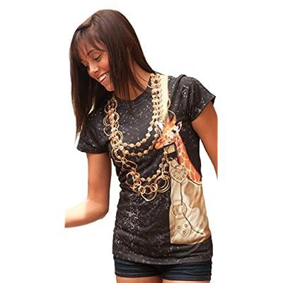 PhotoRealistic Mini Giraffe in Purse T-Shirt