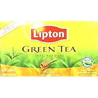 Lipton Honey Green Tea (Imported), 20 Tea Bags