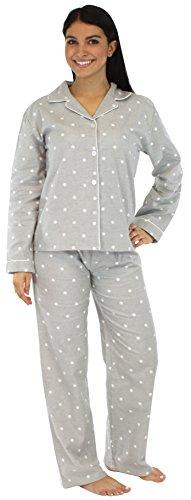 PajamaMania-Womens-Sleepwear-Flannel-Pajamas-PJ-Set