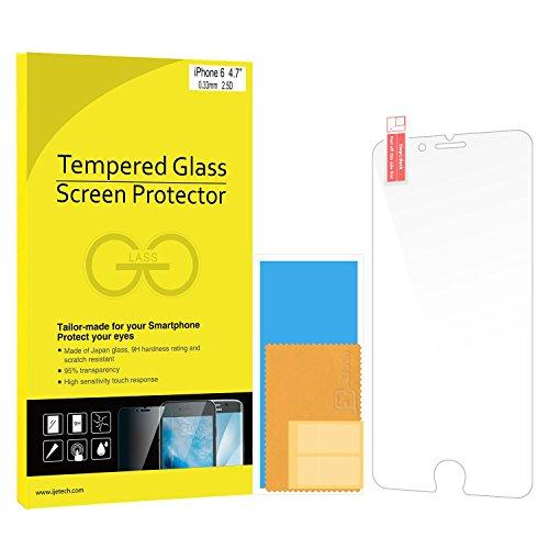 iPhone 6s Pellicola Protettiva, JETech 3D Toccare Compatibile iPhone 6/6s Screen Protector Pellicola Protettiva ultra resistente in vetro temperato per Apple iPhone 6/6s 4.7 Inch - 0800